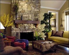 Great room design by Melissa Galt Interiors