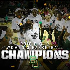 Baylor Women's Basketball clinched its 6th straight Big 12 regular season title!! #SicEm #Baylor #Big12Champs