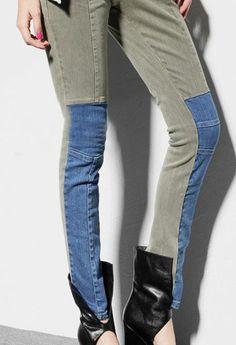 Black White Mid Waist Zipper Pockets Denim Pant Vintage Gypsy, Shorts Jeans, Alternative Fashion, Fashion Prints, Unique Fashion, Couture, Casual Outfits, Pockets, Zipper