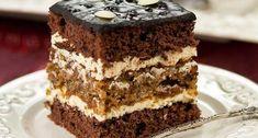 Blat pufos și cremă delicioasă – O prăjitură de nota 10+ Sweets Recipes, Biscuits, Bakery, Deserts, Good Food, Food And Drink, Favorite Recipes, Homemade, Pies