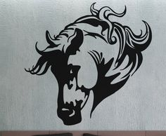 Horse 5  Wall Decal Vinyl Decor Art Modern Removable by uBerDecals