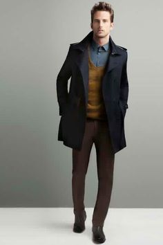 Truffol.com | Zara Man winter menswear. #Zara #moderngentleman #style #color