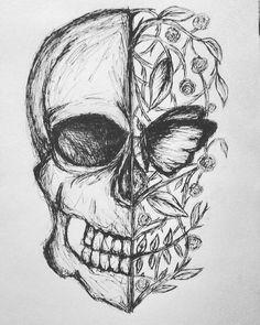 Sketch drawing beautiful art