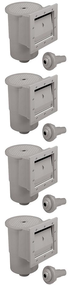 Pool Skimmer Systems and Baskets 181069: Swimming Pool Wall Skimmer Accessories Kit Above Ground Standard Water Cleaner -> BUY IT NOW ONLY: $135.15 on eBay!