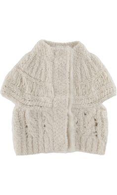 Bonnie Young Cable Knit Vest
