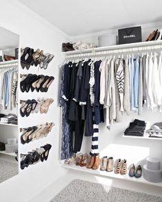 No more floor-drobe!  #littlefishmelbourne #melbourne #wardrobe #fashion