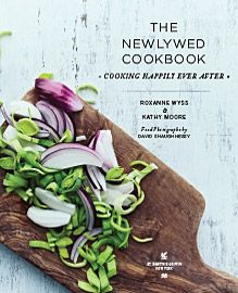 The Newlywed Cookbook designed by Sowins Design for St. Martin's Press. Features guidance and recipes for newly married couples. The book features a collection of modern lifestyle imagery with a clean modern design.