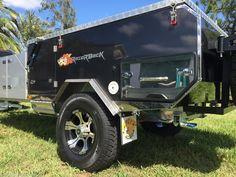 Hard Floor Camper Trailer NEW Razorback Series Forward Folding Model in Strathpine, QLD | eBay