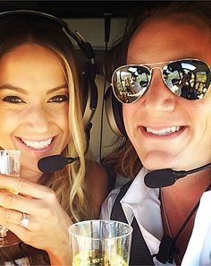 Florida Georgia Line's Tyler Hubbard is engaged to Hayley Stommel -- and she showed off her ring on Instagram!