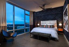 Downtown Condo - contemporary - Bedroom - Orlando - Ted Maines Interiors