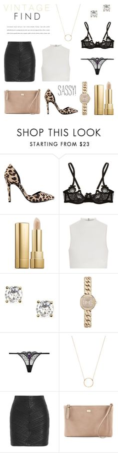 """VINTAGE Find - Fashion 2015"" by rachaelselina ❤ liked on Polyvore featuring Nly Shoes, Agent Provocateur, Dolce&Gabbana, Elizabeth and James, Givenchy, Burberry, Dogeared, Balmain and vintage"