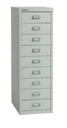 Alternative to Alex from Ikea Metric Office Interiors - Bisley 39 Series Multidrawer  Cabinet (9