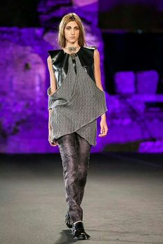 """Tedea""Fall-winter  Madeinmedi fashion show 2014 Taormina Fashion designer Francesca Passanisi Photo Valerio D'Urso"