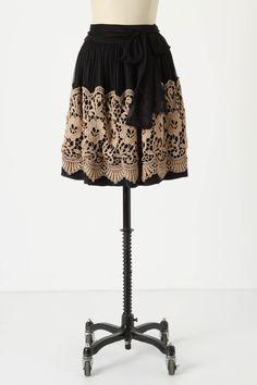 Darjeeling Skirt by Anthropologie