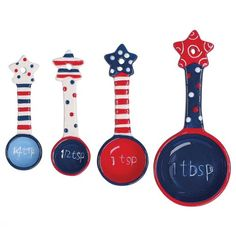 Flags Flying Measuring Spoons