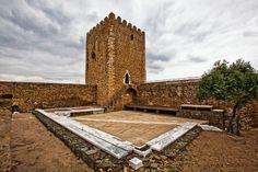 A TORRE DE MENAGEM - CASTELO DE MÉRTOLA