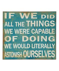 Loving this 'If We Did' Wall Sign on #zulily! #zulilyfinds