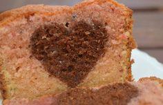 gâteau surprise coeur