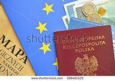 personal documents, credit cards and travel accessories
