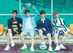 BOYS24's Unit Black Pose for Singles Magazine | Koogle TV