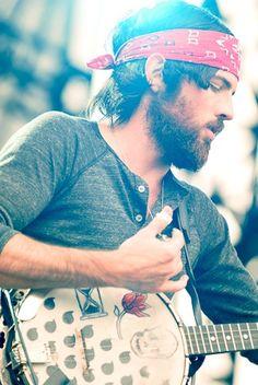 Scott Avett. Banjo man. Um.      :-O