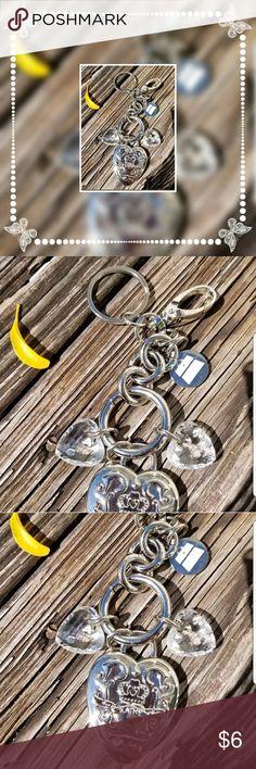 KATHY VAN ZEELAND PURSE ACCESS KEY CHAIN BAG CHARM Bag or key chain accessorie. KATHY VAN ZEELAND KVZ KEY CHAIN RING BAG CHARM HANG TAG PURSE PUFF LOVE HEARTS 7 inch long gently used ***consider bundling to save! Kathy Van Zeeland Bags