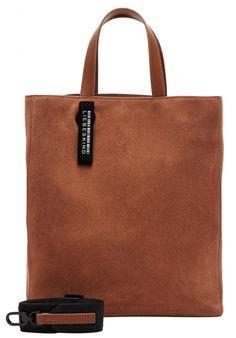 Shoppertasche Liebeskind Paper Bag ToteM Velours braun - Bags & more