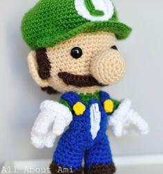 Free Luigi pattern
