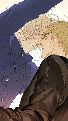 Jian eu te amo nao importa o que Manhwa Manga, Anime Manga, Anime Guys, Anime Art, Hot Anime, 19 Days Manga Español, Shonen Ai, Teen Room Makeover, Cartoon Games