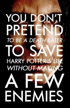 Just got back from the midnight premiere and I'm feeling a lot of #Snape love right about now!