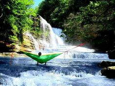 Cummins Falls State Park is home to Tennessee's 75-foot Cummins Falls, the state's 8th largest waterfall.