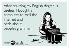 """""""Wow, you are really awesome at correcting other peoples grammar. Thanks for correcting mine! Haha Funny, Hilarious, Lol, Funny Stuff, Spelling And Grammar, Belly Laughs, I Love To Laugh, Someecards, Girl Humor"""