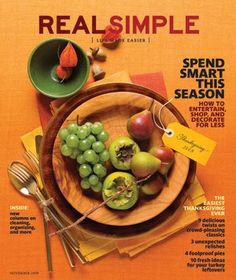 Real Simple Magazine Covers