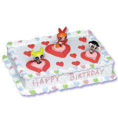 powerpuff girl cake