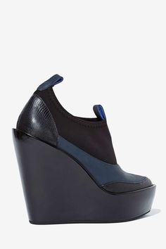 Jeffrey Campbell Soju Leather Wedge - Shoes | Jeffrey Campbell | Ankle