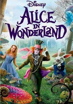 Alice in Wonderland (2010) A 19-year-old Alice (Mia Wasikowska) journeys through Underland, where she experiences strange ordeals and encounters peculiar characters, including the vaporous Cheshire Cat (voiced by Stephen Fry), the Mad Hatter (Johnny Depp) and the sadistic Red Queen (Helena Bonham Carter). Anne Hathaway, Alan Rickman, Matt Lucas and Crispin Glover co-star in this inventive, Golden Globe-nominated adaptation of the Lewis Carroll classic.