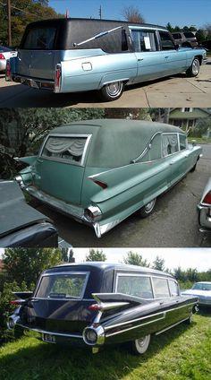 Vintage Cadillac's Hearses