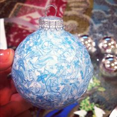Adpi homemade ornament