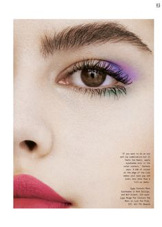 The face of Topshop's spring campaign, Lily Jean Harvey, takes the spotlight for the May 21st, 2017 issue of Sunday Times Style. Lensed by Jem Mitchell, the British beauty graces the cover, wearing a gauzy dress and bold red lipstick. Inside the magazine, Lily Jean models on-trend makeup looks created by YSL Global Beauty Director...[Read More]
