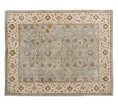 living room area rug // Oriental Rugs, Persian Rugs & Persian Area Rugs | Pottery Barn