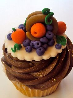 42 Thanksgiving Cupcakes Too Cute To Eat