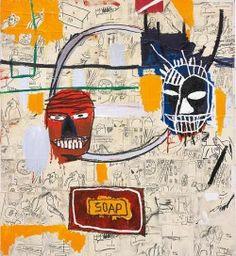 Jean-Michel Basquiat - Untitled (soap), 1983