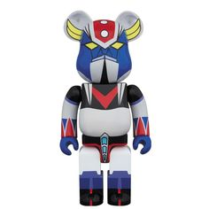 UFO Robot Grendizer 400% Bearbrick (Dec 2015) #grendizer #uforobotgrendizer #robot #medicom #medicomtoy #bearbrick #gonagai #instacool #awesome #cool #instagood #new #shogunwarriors #forcefive #grandizer #goldorak #goldrake #vegatron #dukefleed #spacer #spaizer