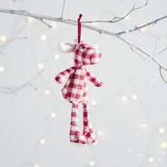 Mini Gingham Reindeer   The White Company