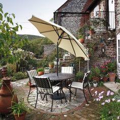 Nice small patio