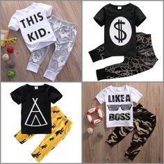 Toddler Boys Variety Fashion [short sleeve] 2-pc. Set Top