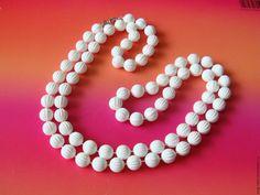 """Купить Бусы Ожерелье """"Pastel Parfai"""" Sarah Coventry Винтаж 1970-е - винтажные украшения"""
