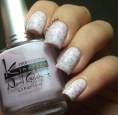 The Clockwise Nail PolishReview: Kinetics KP 189 Flowery