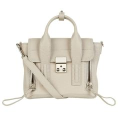 3.1 Phillip Lim Mini Pashli Satchel ($710) ❤ liked on Polyvore featuring bags, handbags, accessories, satchel handbags, mini satchel purse, satchel purses, miniature purse and 3.1 phillip lim handbags
