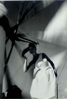 Mykonos, Greece in Harper's Bazaar by Lillian Bassman, 1960